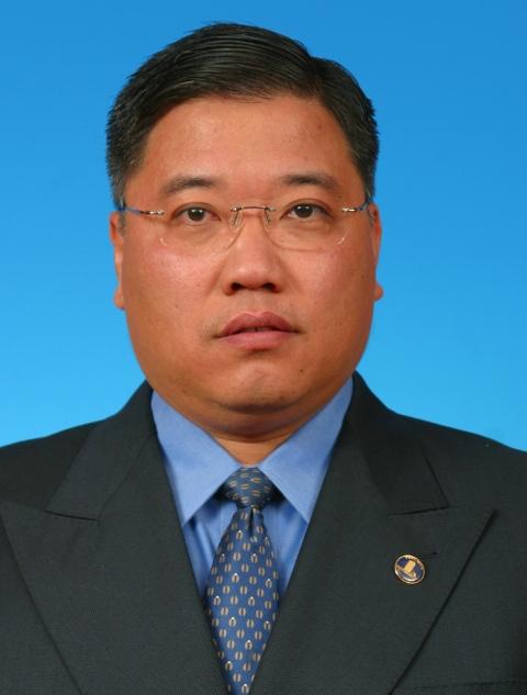砂民进党民都鲁区国会议员拿督斯里张庆信