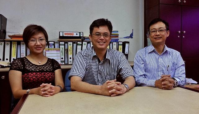 Amy Tnay, Tan Kai and Sim Kiang Chiok