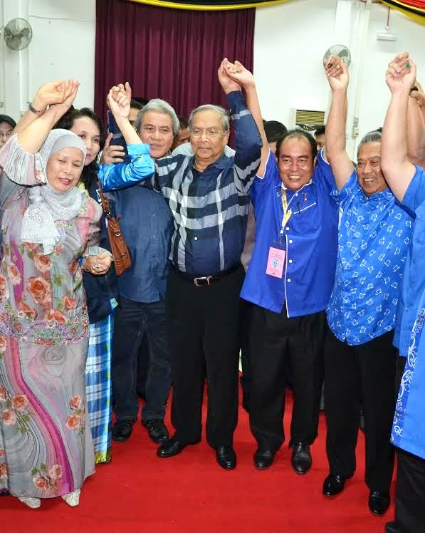 DPM, CM joining in the victorious win of Yussibnosh Balo.
