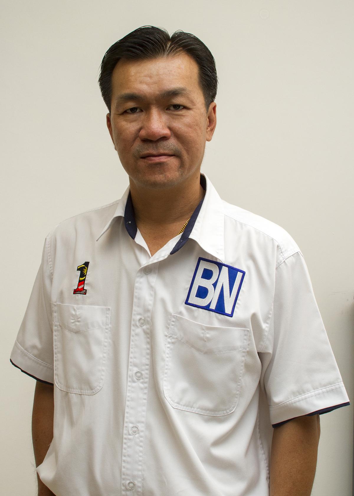 人联党青年团秘书长叶耀星。