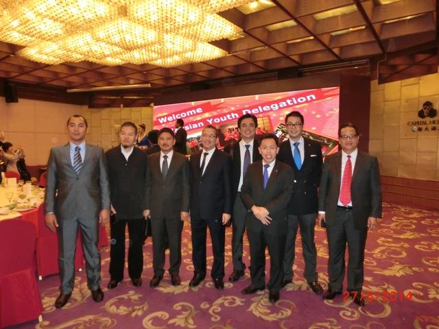 The Malaysian Delegates in the photo are Ek Fazzrdin (Political Secretary to YB Fadillah), YB Ripin Lamat