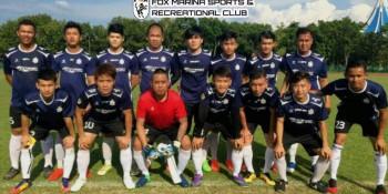 Nanyang United and Fox Marina teams