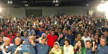 SUPP leaders the Lan Berambeh ak Sarawak 2018