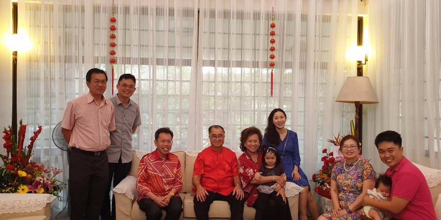 Visiting to residence of  Dato Sri JC Foong.