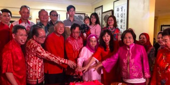 CM in his cny visits