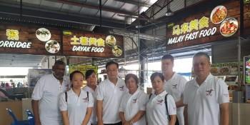 SUPP Stakan Branch Committee members.