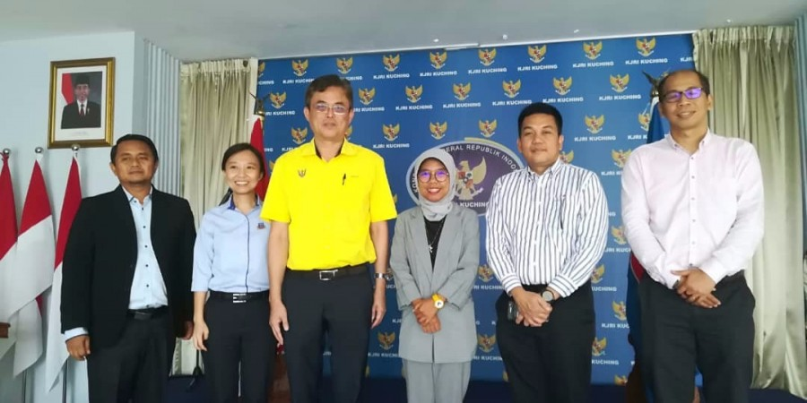 Visit to Indonesian consulate.