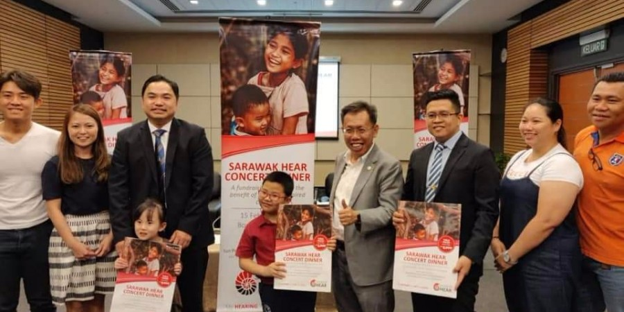 Datuk Sri Dr. Sim hoping for public generosity to help the hearing impaired and their families.
