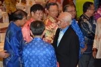 首长泰益玛目与人联党领袖们交流。